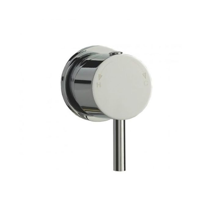 Round Thermostatic Handle with Lever