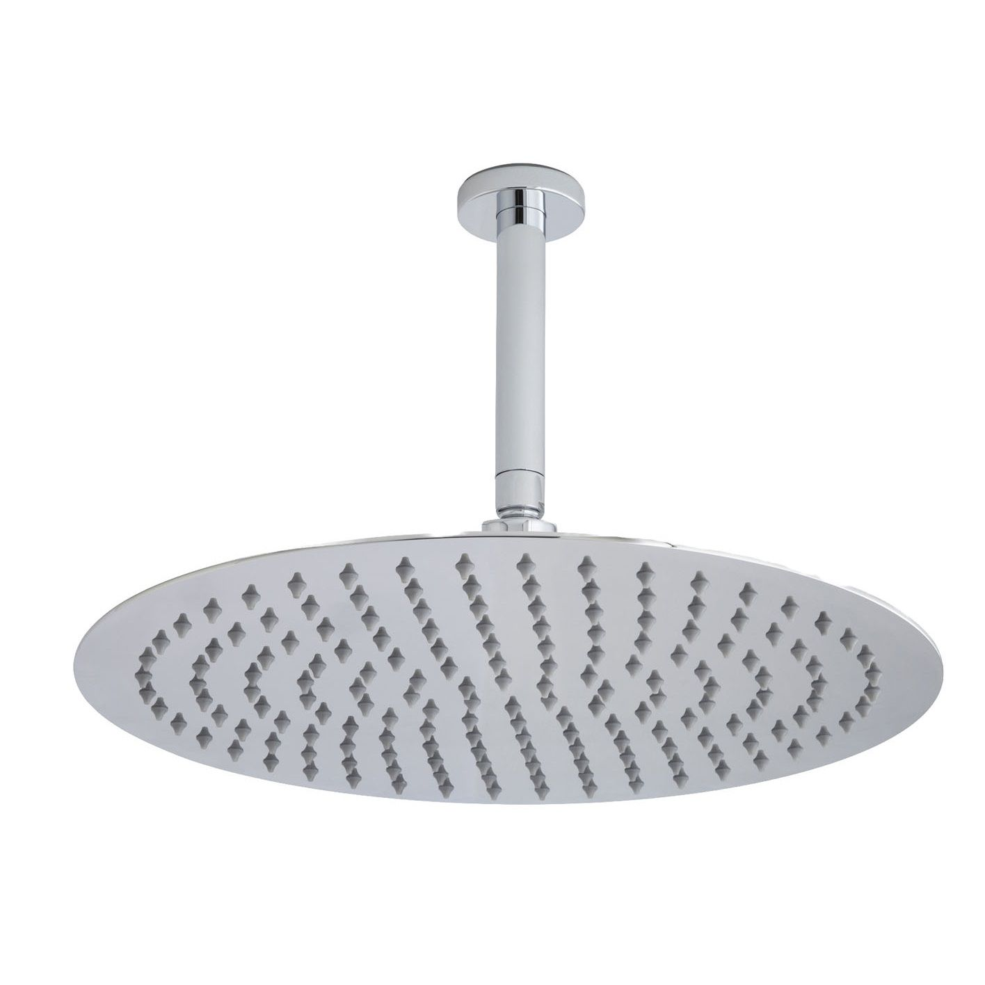 "15.75"" Shower Head with Ceiling Mounting Arm"