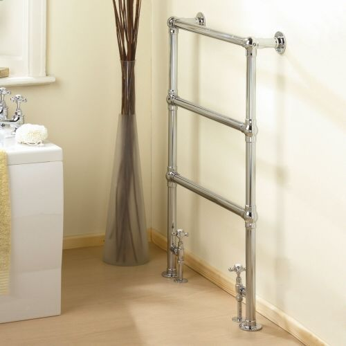 "Countess - Traditional Hydronic Heated Towel Warmer - 36.5"" x 25"""