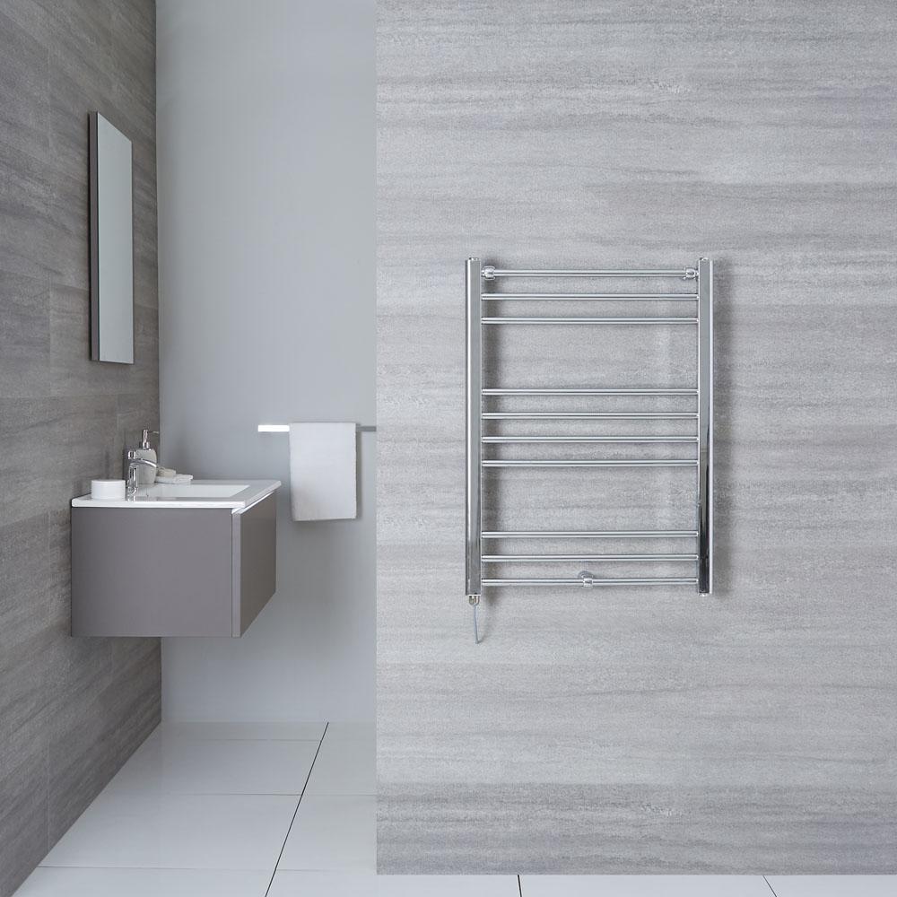 "Eco Electric - Chrome Heated Towel Warmer - 31.5"" x 23.75"""