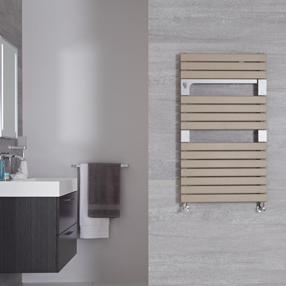 "Seina - Mineral Quartz Hydronic Designer Towel Warmer - 37.5"" x 21.75"""