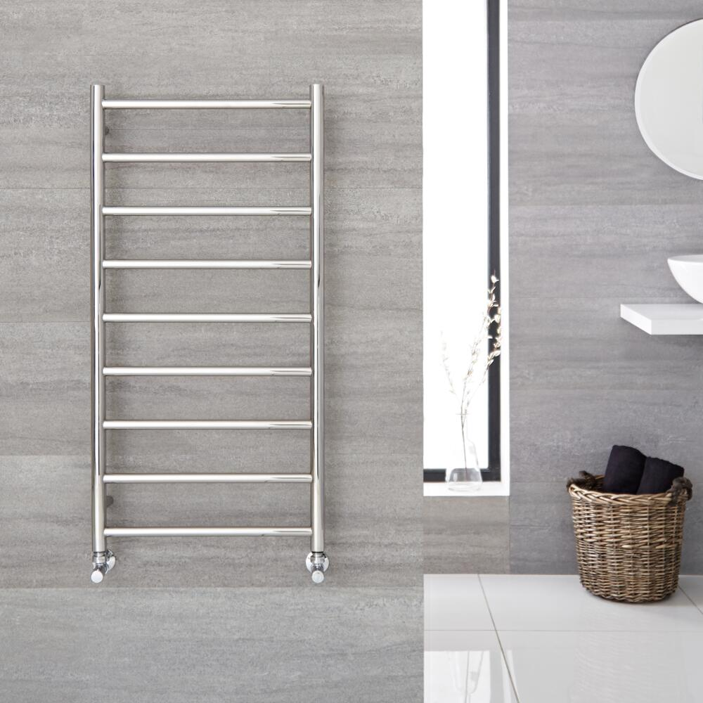 """Quo  - Stainless Steel Towel Warmer - 47.25"""" x 23.75"""""""