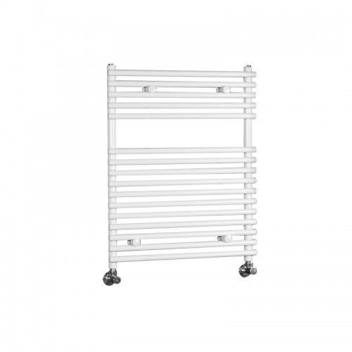 "Ischia - Hydronic White Heated Towel Warmer - 29.5"" x 23.5"""