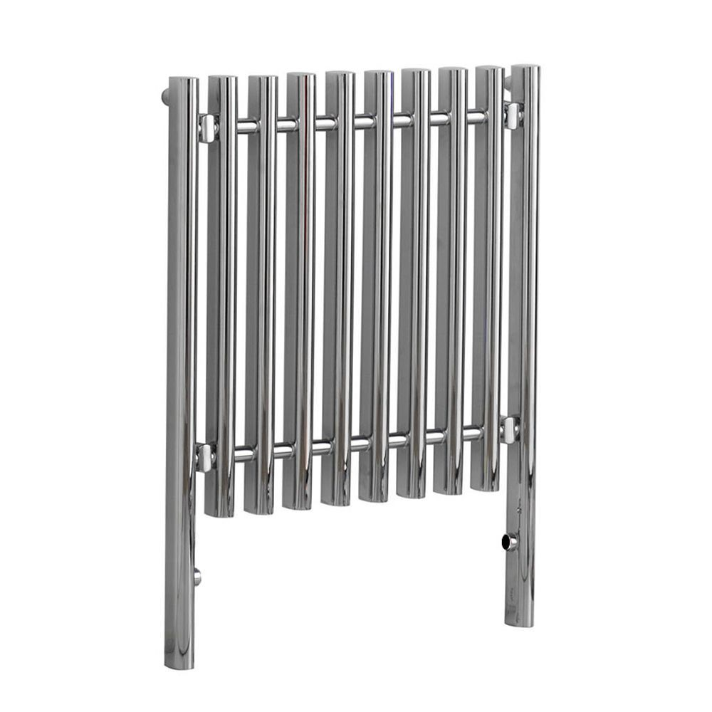 "Select - Hydronic Chrome Heated Towel Warmer - 31.5"" x 23.5"""