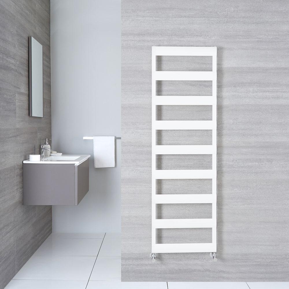 "Gradus  - White Hydronic Towel Warmer - 62.5"" x 19.75"""