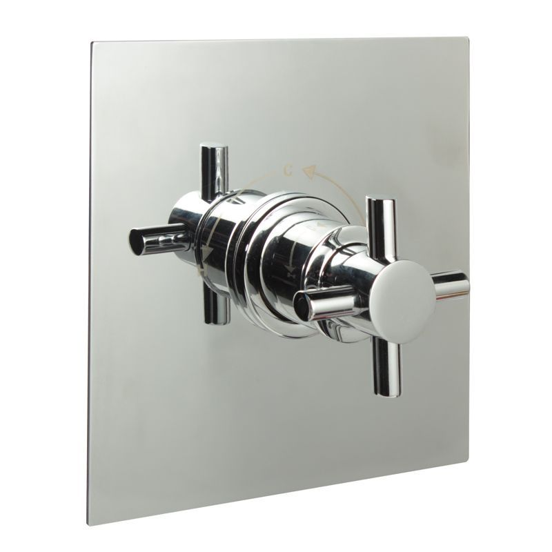 "3/4"" Sequential Valve, Square Plate & Modern Crosshead Handle"