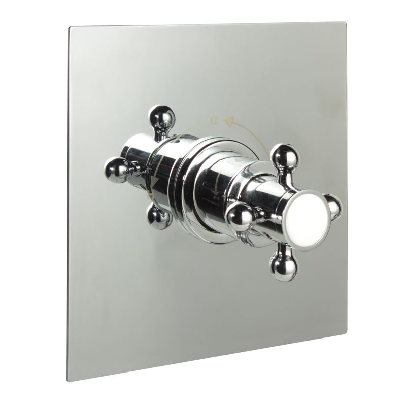 "1/2"" Sequential Valve, Square Plate & Traditional Crosshead Handle"