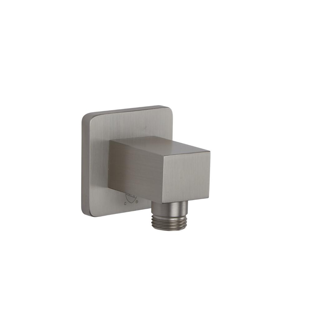 Square Outlet Elbow - Brushed Nickel