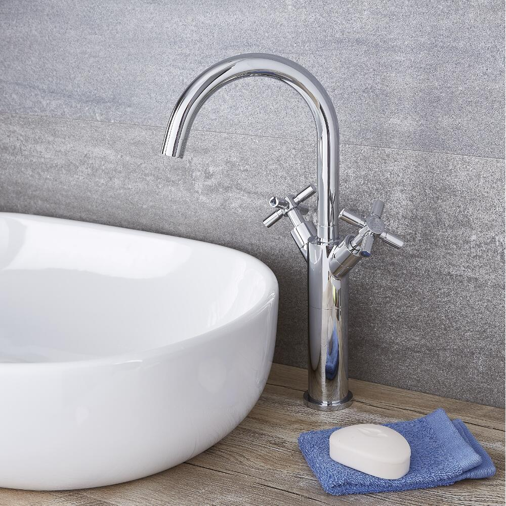 Tec - Chrome Single-Hole Vessel Faucet