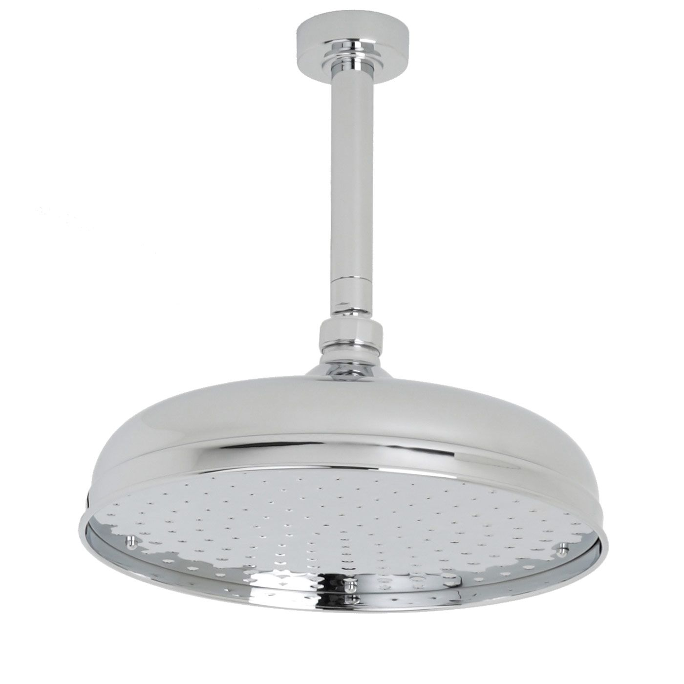 "Valquest 12"" Traditional Shower Head with Round Ceiling Arm"