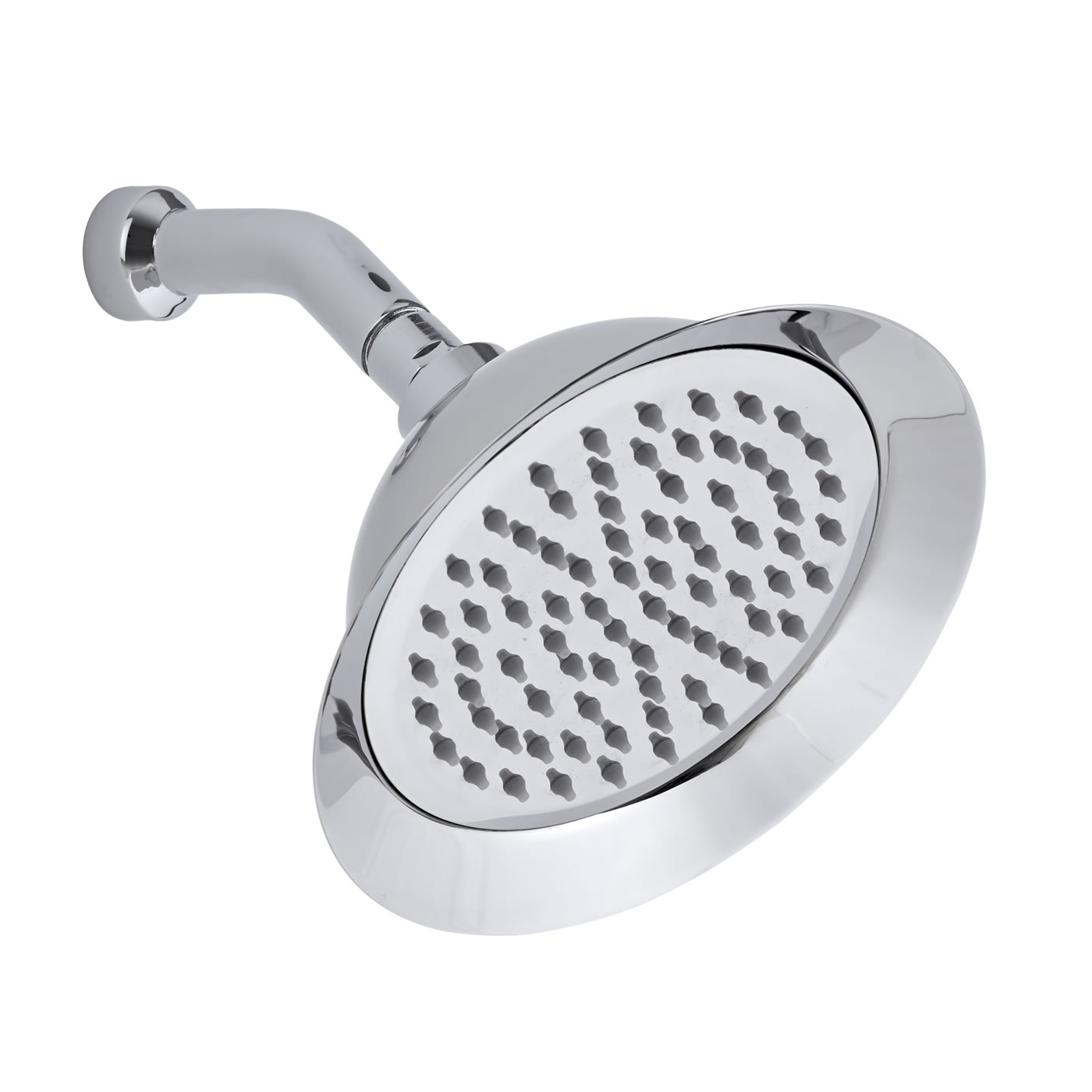 "8"" Rose Shower Head & Cranked Arm"
