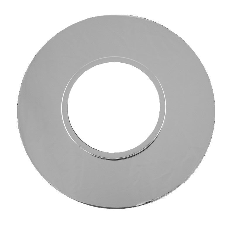 Round Dual Trim Plate