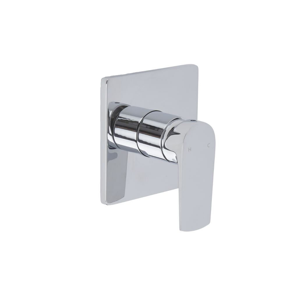 Arcadia - Chrome Manual Shower Valve - One Outlet