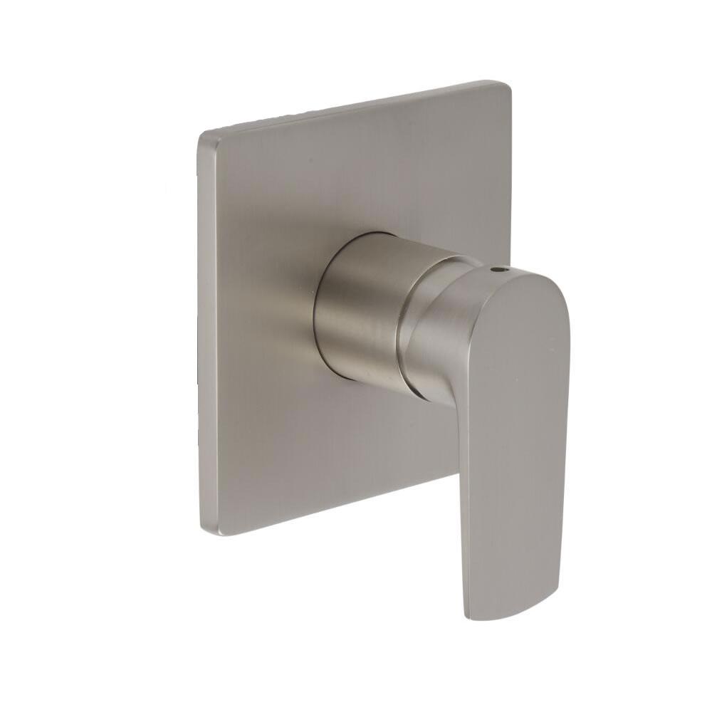 Arcadia - Brushed Nickel Manual Shower Valve - One Outlet