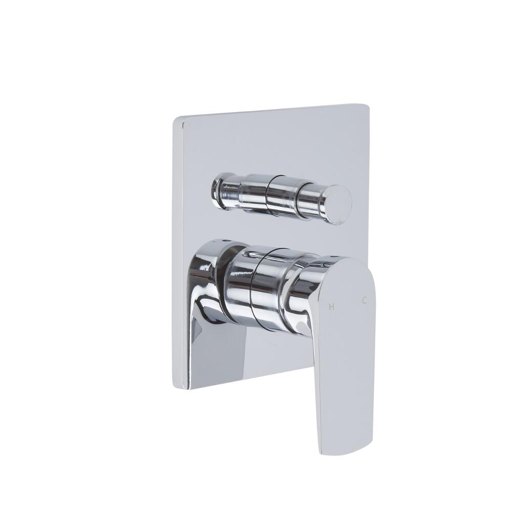 Arcadia - Chrome Manual Shower Valve with Diverter - Two Outlet