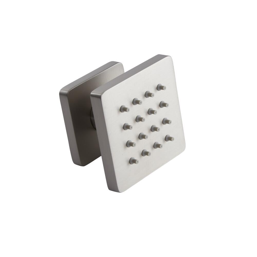Square Body Jet - Brushed Nickel