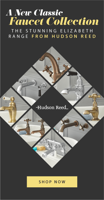 A New Classic Faucet Collection The stunning Elizabeth range from Hudson Reed Shop Now