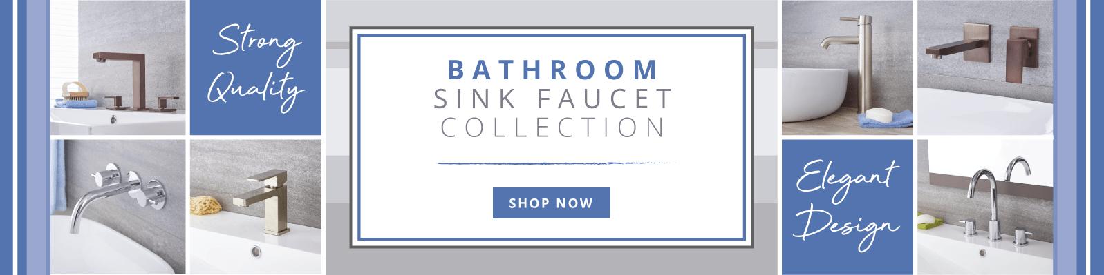 Bathroom Sink Faucet Collection Elegant Design, Uncompromising Quality